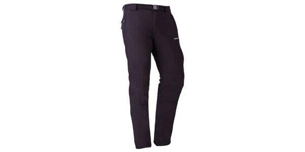 Pánské černé rychleschnoucí kalhoty Goritz