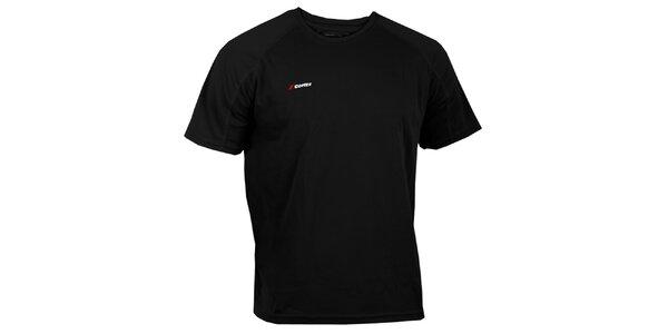 Pánské černé technické tričko Goritz