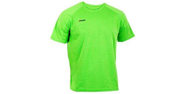 Pánské zářivě zelené technické tričko Goritz
