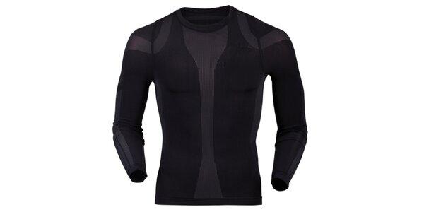 Pánské termo tričko v černé barvě Goritz