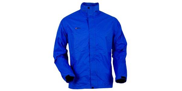 Pánská tmavě modrá bunda do deště Goritz