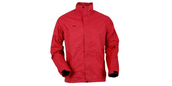 Pánská červená bunda do deště Goritz