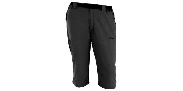 Pánské tmavě šedé tříčtvrteční kalhoty Goritz