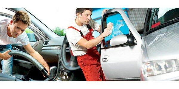 Čištění, mytí a tepování vašeho auta