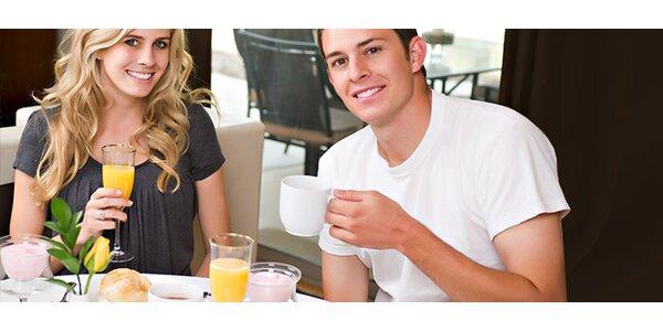 Snídaně pro dva v kavárně Metropol