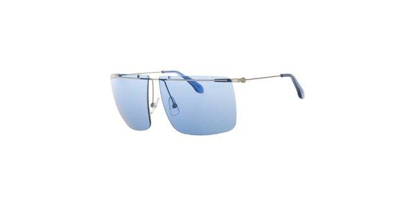 Pánské sluneční brýle s modrými sklíčky Calvin Klein