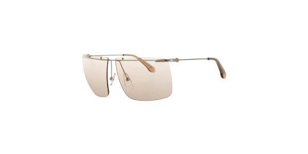 Pánské sluneční brýle barevnými skly Calvin Klein