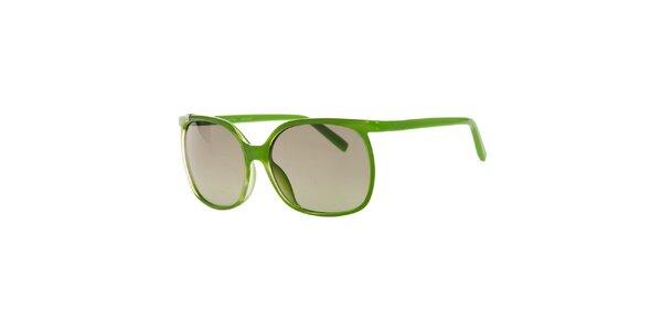 Dámské zelené sluneční brýle Calvin Klein