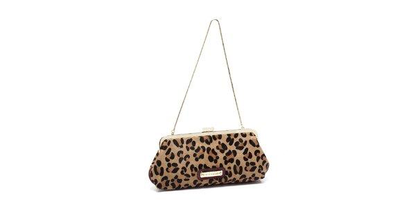 Dámská hnědá leopardí kabelka Steve Madden