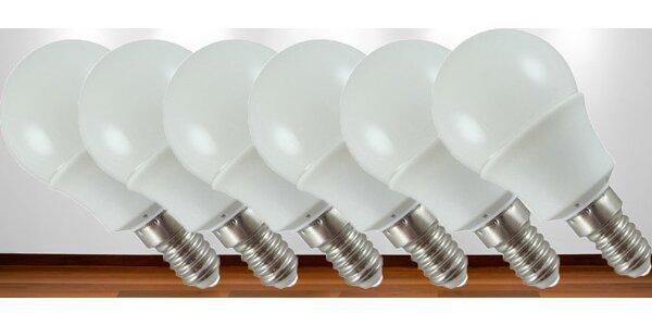 LED žárovky- 6 ks v balení