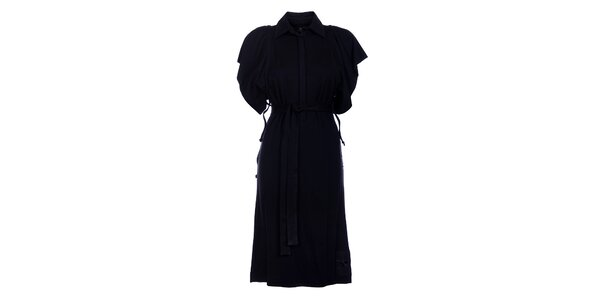 Dámské dlouhé černé šaty Pietro Filipi