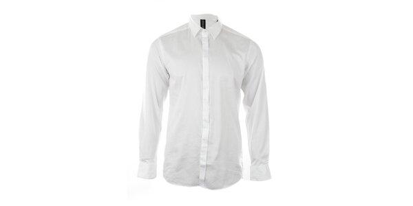 Pánská sněhobílá košile Pietro Filipi