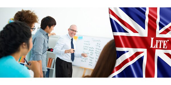 Letní intenzivní kurz angličtiny pro všechny úrovně