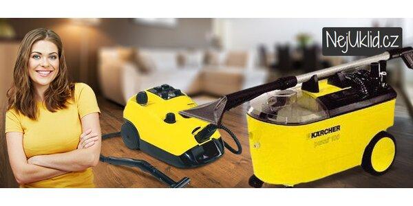 Ukliďte jako profík se speciálními přístroji na čištění