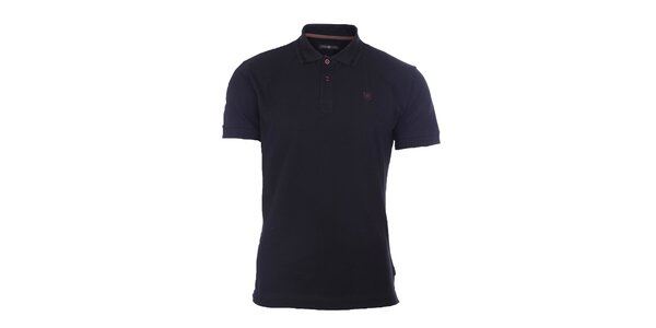Pánské černé polo tričko Pietro Filipi