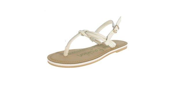 Dámské béžové sandály Beppi