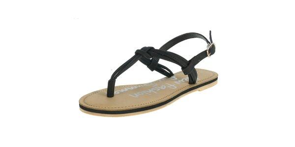 Dámské černé sandály Beppi