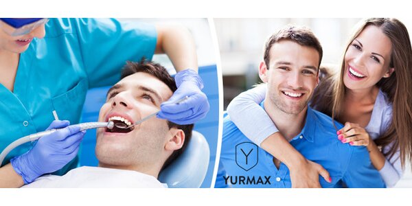 Profesionální dentální hygiena na klinice YURMAX