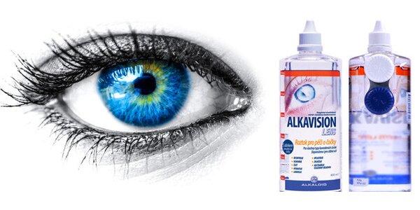 ALKAVISION LENS roztok pro péči o kontaktní čočky 400ml