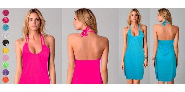 10 barev léta – lehké šaty jednoduchého střihu