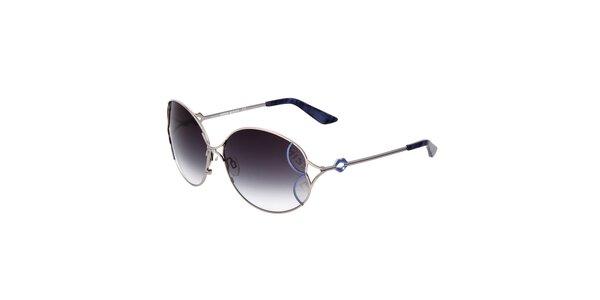 Dámské sluneční brýle s modrými čočkami s gradientním efektem Miss Sixty