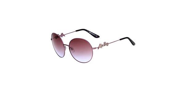 Dámské růžovofialové sluneční brýle s gradientním efektem Miss Sixty