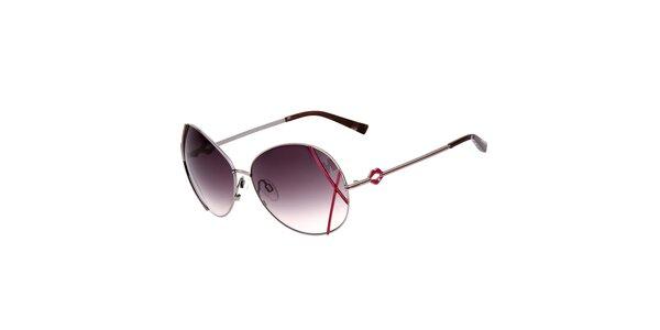 Dámské sluneční brýle s šedými skly s gradientním efektem Miss sixty