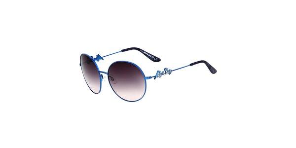 Dámské modré sluneční brýle s gradientním efektem Miss Sixty