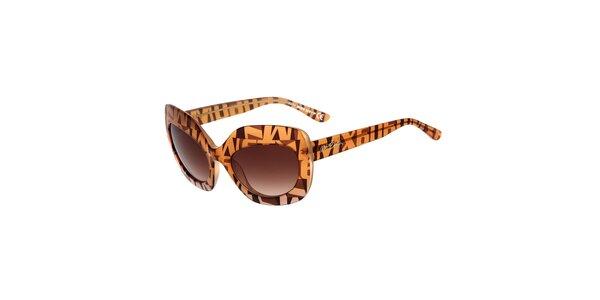 Dámské vzorované sluneční brýle s gradientním efektem Miss Sixty