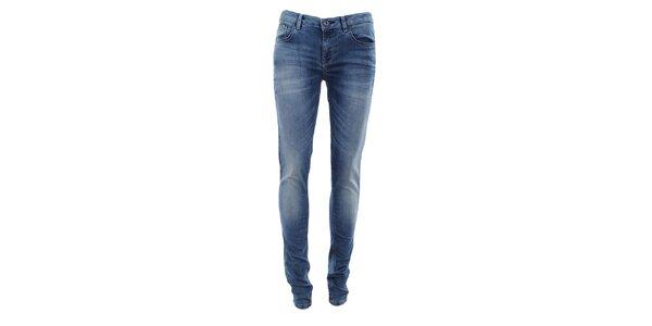 Dámské světle indigové šisované džíny Fuga