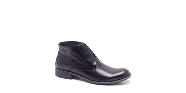 Pánské černé kotníkové boty Steve Madden
