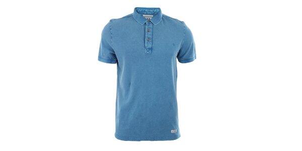 Pánské modré polo triko Fuga