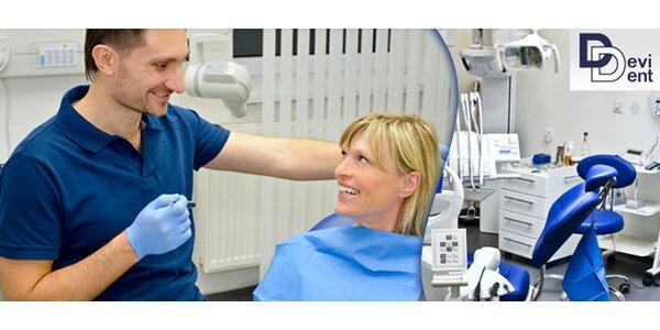 Špičková dentální hygiena na klinice Devident