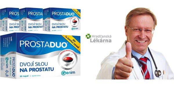 PROSTADUO - dvojí silou na prostatu