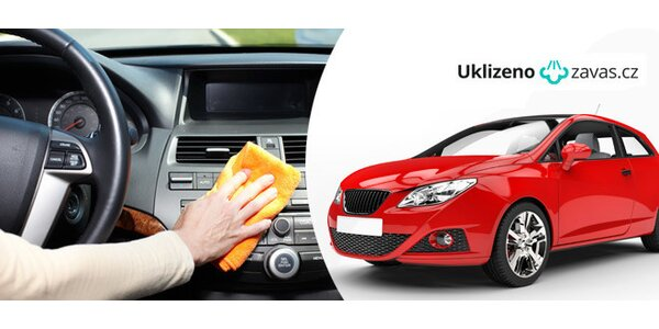 Čištění exteriéru a interiéru vaše vozu