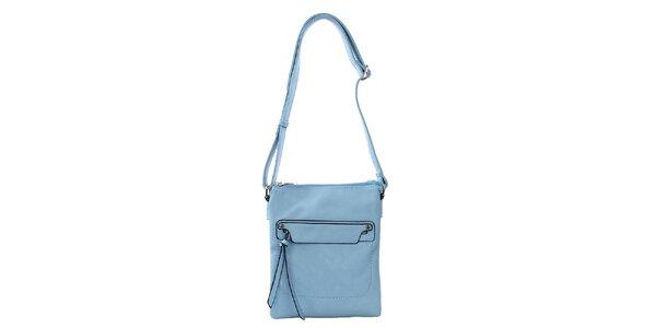 Dámská blankytně modrá kabelka Bessie