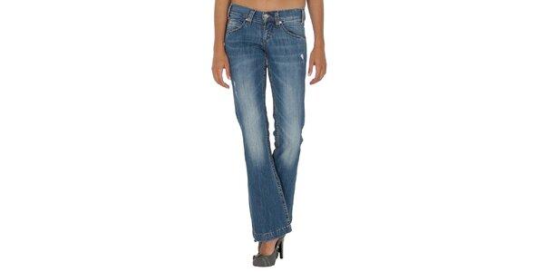 Dámské modré džíny do zvonu Miss Sixty