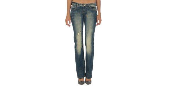 Dámské modré džíny s šisováním Miss Sixty