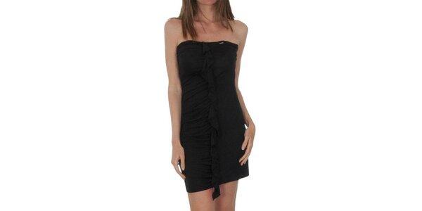 Dámské černé šaty s kanýrem Miss Sixty