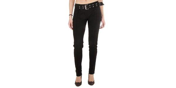Dámské černé upnuté kalhoty Miss Sixty