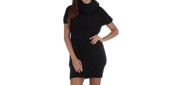 Dámské černé úpletové šaty Miss Sixty