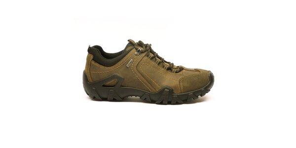 Pánské hnědo-béžové sportovní boty Numero Uno