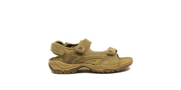 Pánské béžové trekové sandály Numero Uno