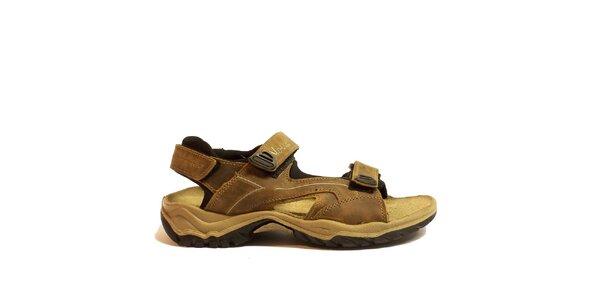 Pánské hnědé trekové sandály Numero Uno