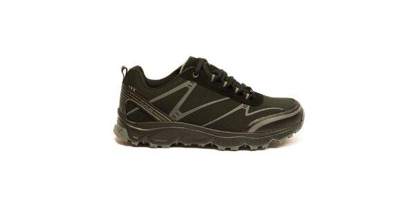 Dámské černé trekové boty Numero Uno