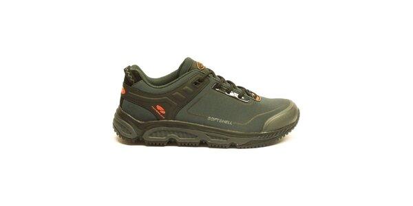 Pánské tmavé trekové kotníčkové boty Numero Uno