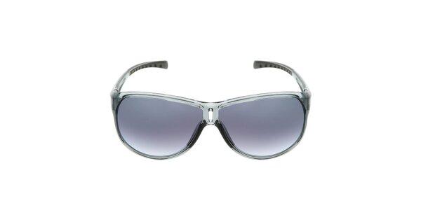 Šedé plastové sluneční brýle s gradientními skly Red Bull