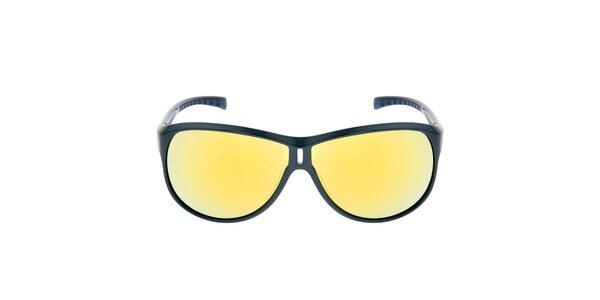 Modré sluneční brýle se žlutými skly Red Bull