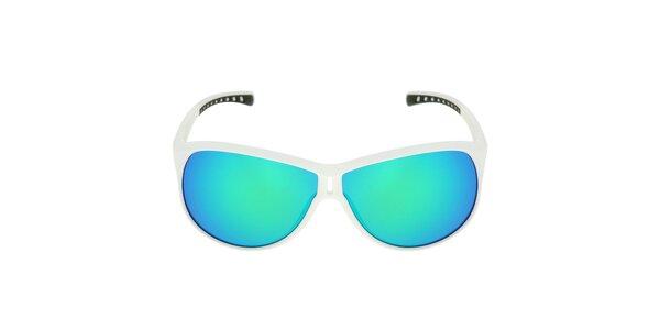 Bílé sluneční brýle s barevnými skly Red Bull