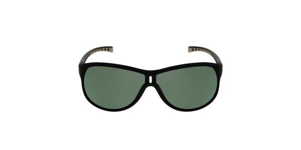 Černé sluneční brýle se zelenými skly Red Bull